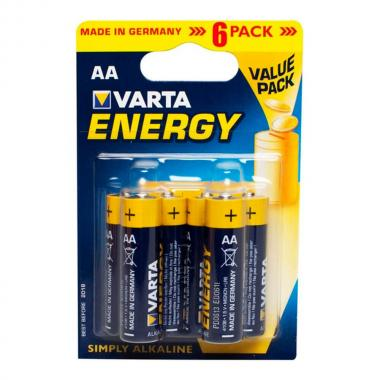 "Батарейки Varta ""Energy"" AA (6 шт)"