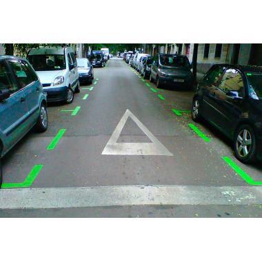 Аэрозольная краска для разметки Easyline, зеленая (750 мл) [gwr47004]