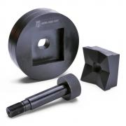 Перфоформа (матрица) КВТ МПО-138х138 для пробивки отверстий [65657]