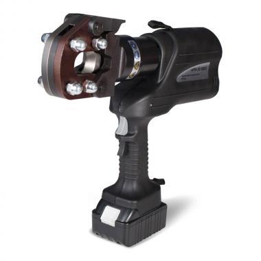 Гидравлические аккумуляторные ножницы КВТ НГРА-32 для резки кабелей, проводов АС, стальных тросов [73863]