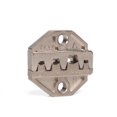 Набор КВТ CTN: Пресс-клещи для опрессовки наконечников с 5-ю матрицами [80102]