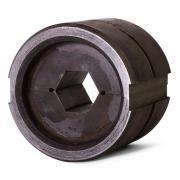 Матрица с шестигранным профилем обжима КВТ МШ-18,2-А/60т для пресса ПГ-60 тонн при опрессовке алюминиевых зажимов на ВЛ [62442]