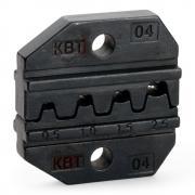 Номерные матрицы КВТ МПК-04 для опрессовки автоклемм под двойной обжим [69960]