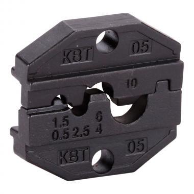 Набор КВТ CTB+4: Пресс-клещи в тканевой сумке с комплектом матриц [75909]