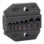Номерные матрицы КВТ МПК-06 для опрессовки двойных изолированных втулочных наконечников [69962]