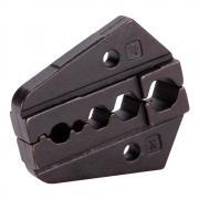 Номерные матрицы КВТ МПК-08 для опрессовки коаксиальных разъемов для телевизионных кабелей RG 6, RG 58, RG 59, RG 62 [74855]