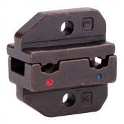Номерные матрицы КВТ МПК-09 для обжима флажковых разъемов в нейлоновом корпусе [74856]