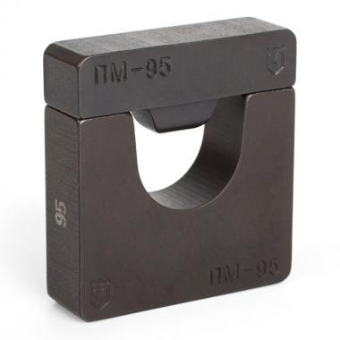 Набор матриц КВТ НМ-300-ПМ для опрессовки медных листовых наконечников ПМ [61035]