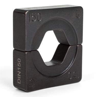 Набор матриц КВТ НМ-300-DIN для опрессовки наконечников по DIN 46235 [61036]