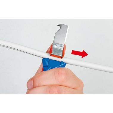Кабельный нож Weicon 4-28H с лезвием-крюком [wcn50054328]