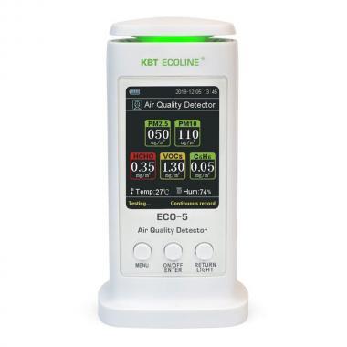 Анализатор воздуха КВТ ECO-5 «ECOLINE» [79140]