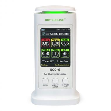 Анализатор воздуха КВТ ECO-6 «ECOLINE» [79142]