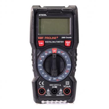Мультиметр цифровой КВТ KT830L «PROLINE» [79127]