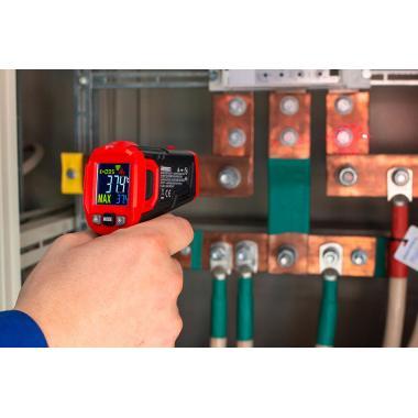 Лазерный бесконтактный пирометр КВТ KT650B «PROLINE» [79138]