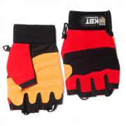 Перчатки монтажника КВТ С-39 «ПРОФИ», беспальцевые, размер XL [78683]