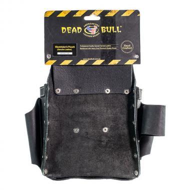 Кожаная поясная сумка КВТ СК-9 «DEAD BULL» без ремня [78430]