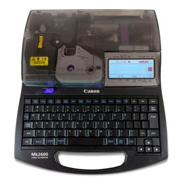 Кабельный принтер Canon MK2600 (M1-PROV) для печати на трубке ПВХ (кембрике) и термоусадочной трубке