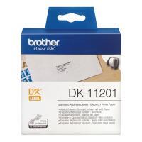 Лента Brother DK11201 наклейки 29 х 90 мм, белые (400 шт)