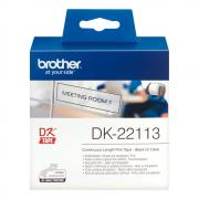 Лента Brother DK22113 непрерывная 62 мм х 15,24 м, прозрачная