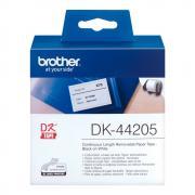 Лента Brother DK44205 непрерывная 62 мм х 30,48 м, белая