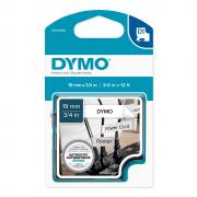 Картридж Dymo S0718050/16958, 19 мм, черный на белом