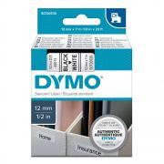 Картридж Dymo S0720530/45013, 12 мм, черный на белом
