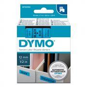 Картридж Dymo S0720560/45016, 12 мм, черный на синем