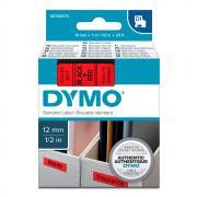 Картридж Dymo S0720570/45017, 12 мм, черный на красном