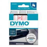 Картридж Dymo S0720700/40915, 9 мм, красный на белом