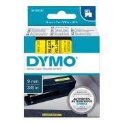 Картридж Dymo S0720730/40918, 9 мм, черный на желтом