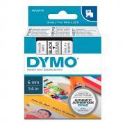 Картридж Dymo S0720770/43610, 6 мм, черный на прозрачном