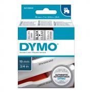Картридж Dymo S0720820/45800, 19 мм, черный на прозрачном