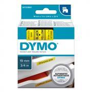 Картридж Dymo S0720880/45808, 19 мм, черный на желтом