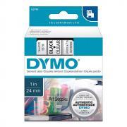 Картридж Dymo S0720920/53710, 24 мм, черный на прозрачном