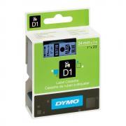 Картридж Dymo S0720960/53716, 24 мм, черный на синем
