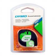 Лента Dymo S0721510/91220, 12 мм, черный на белом