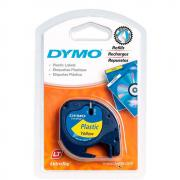 Лента Dymo S0721620/91222, 12 мм, черный на желтом