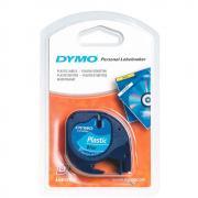 Лента Dymo S0721650/91225, 12 мм, черный на синем