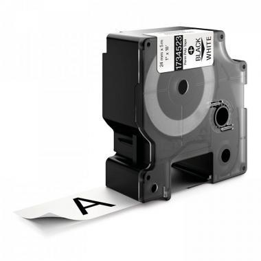 Картридж Dymo S0773830/1734523, 24 мм, черный на белом