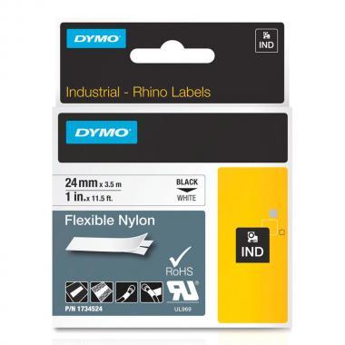 Картридж Dymo S0773840/1734524, 24 мм, черный на белом