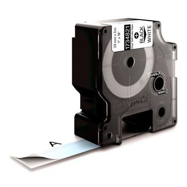 Картридж Dymo S0773860/1734821, 24 мм, черный на белом