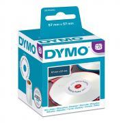 Этикетки Dymo S0719250/14681, ∅ 57 мм, белые (160 шт)