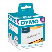 Этикетки Dymo S0722370/99010, 28 x 89 мм, белые (2 х 130 шт)