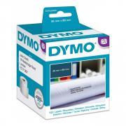 Этикетки Dymo S0722400/99012, 36 x 89 мм, белые (2 х 260 шт)