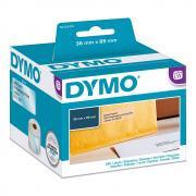 Этикетки Dymo S0722410/99013, 36 x 89 мм, прозрачные (260 шт)