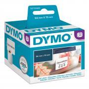 Этикетки Dymo S0722440/99015, 70 x 54 мм, белые (320 шт)
