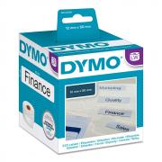 Этикетки Dymo S0722460/99017, 50 x 12 мм, белые (220 шт)