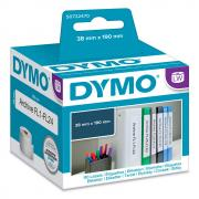 Этикетки Dymo S0722470/99018, 190 x 38 мм, белые (110 шт)
