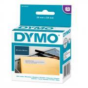 Этикетки Dymo S0722520/11352, 54 x 25 мм, белые (500 шт)
