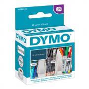 Этикетки Dymo S0722530/11353, 24 x 12 мм, белые (1000 шт)